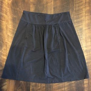 J.Crew Gray Jersey Pocket Skirt XS